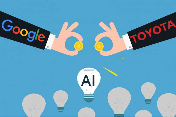 google-toyota-AI-venture-capital-funds