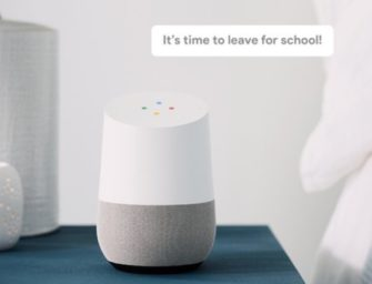 Google Home Rolls Out Broadcast Feature