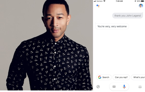 John Legend Google Home – 1