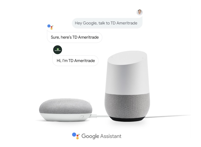 TD Ameritrade Adds a Google Assistant Action to its Digital