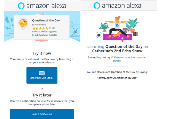 Alexa Quick Links