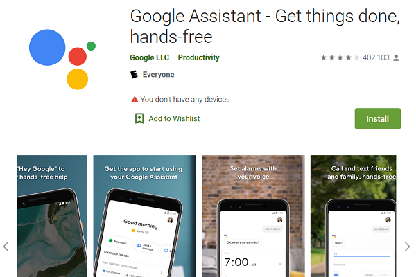 Google Assistant Play